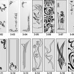 пескоструйные рисунки на зеркалах