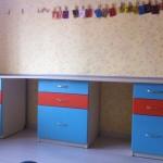 Стол и шкафчики